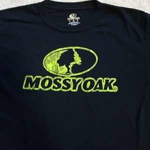 Mossy Oak Boy's XL Black T-Shirt